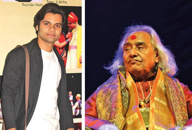 Aman Jaitly and Pt Channu Lal Mishra  (BCCL/ Arvind Kumar)