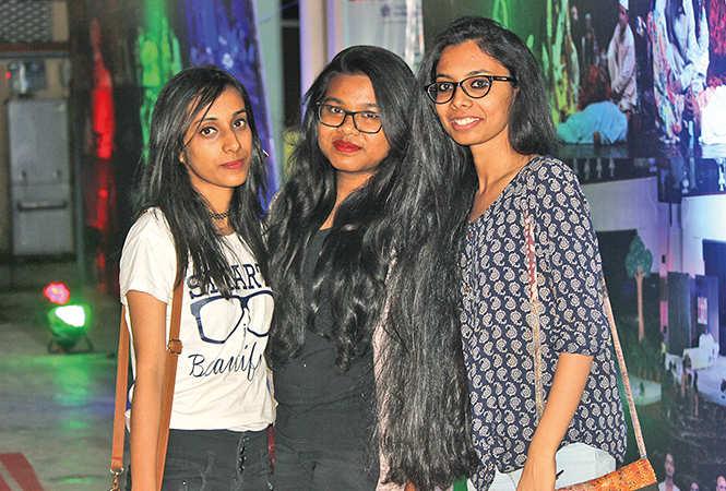 (L-R) Shriyasi Mittal, Surasree and Sohini  (BCCL/ Arvind Kumar)