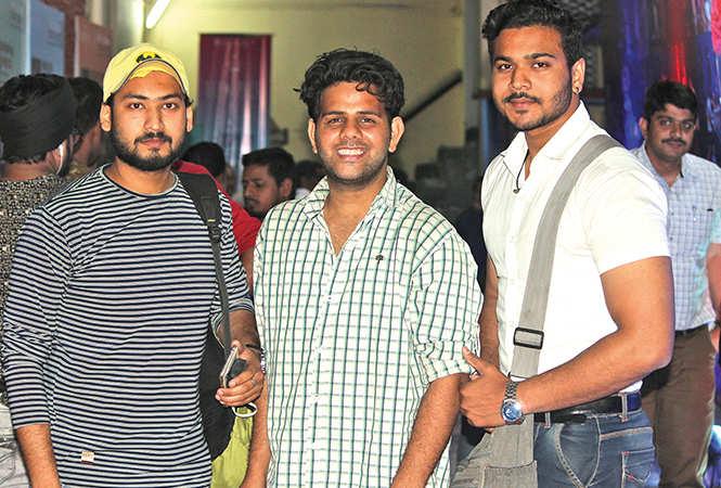 (L-R) Sumit, Gunjan and Subham (BCCL/ Arvind Kumar)