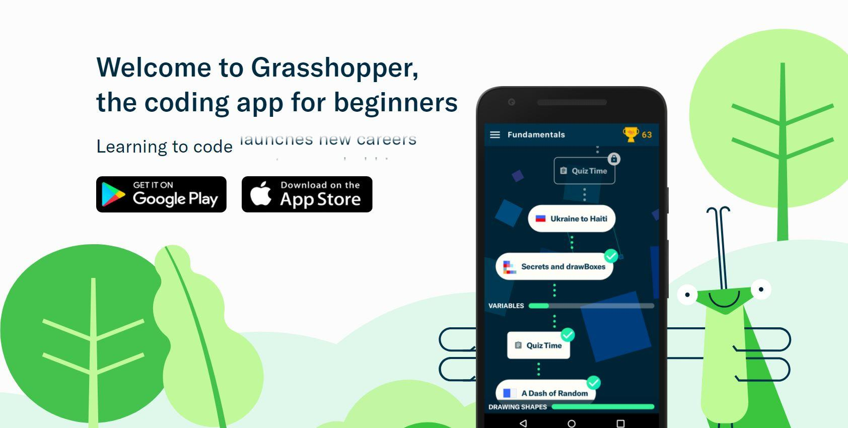 Dc5m United States It In English Created At 2018 04 20 0012 Everycircuit Android Apps On Google Play To Help Beginners Learn Coding Their Smartphones Has Launched A New Code App Called Grasshopper Been By Team