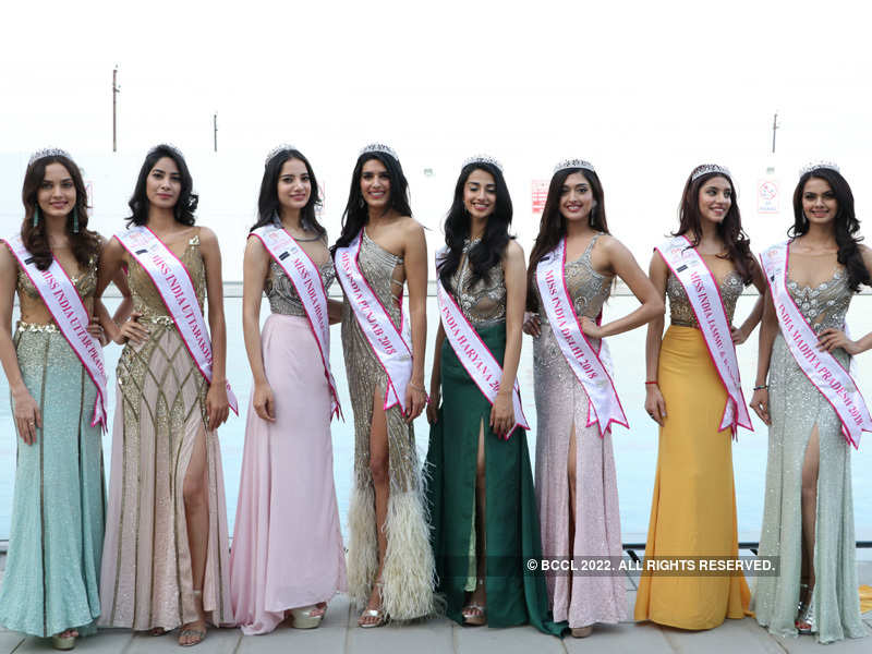 Miss India 2018 North Winners at Bennett University
