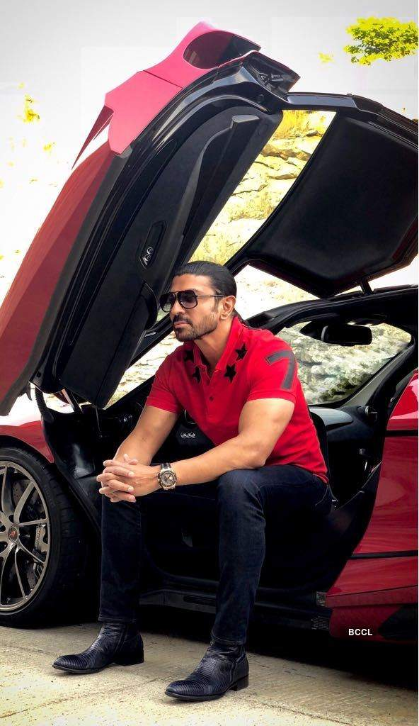 Viral pictures of Bengaluru-based businessman Ranjit Sundaramurthy & India's 'first' McLaren 720S