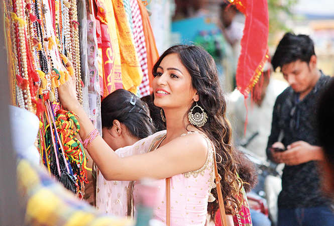 Pooja Bisht made for a pretty picture in her desi avatar (BCCL/ Arvind Kumar)
