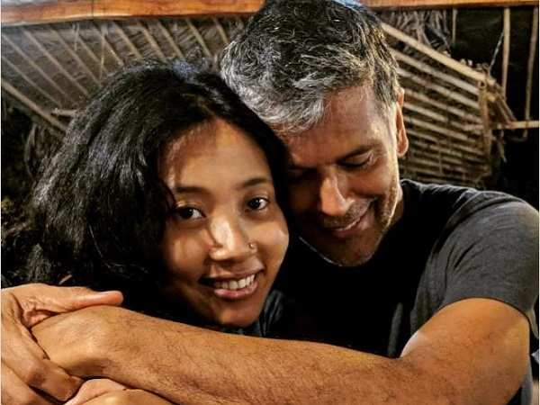 Milind Soman - Ankita Konwar Marriage Pictures