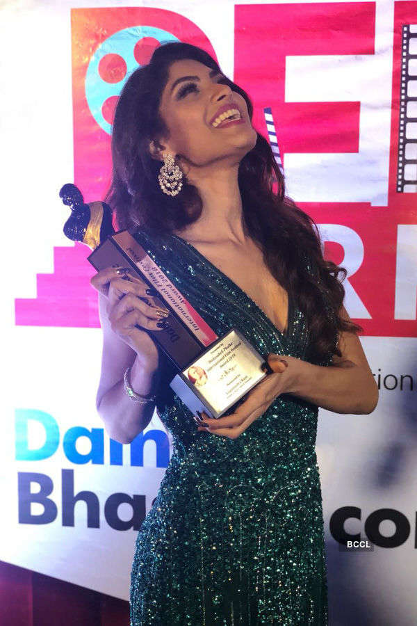 Lopamudra Raut felicitated with People's Choice Award