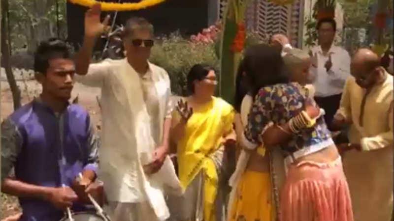Watch: Milind Soman-Ankita Konwar's mehndi ceremony