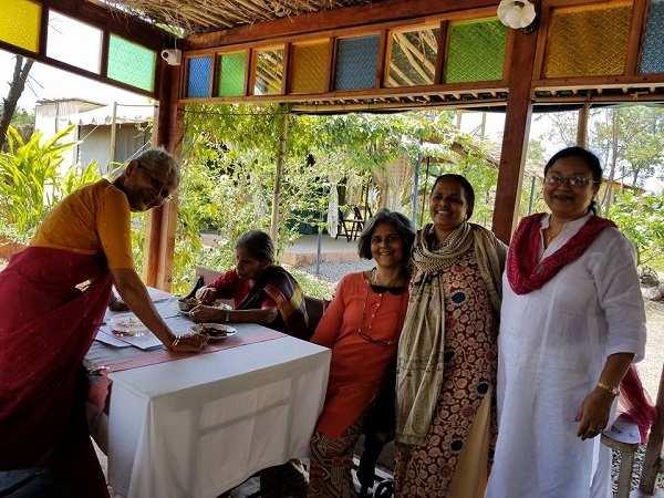 Milind Soman and Ankita Konwar Wedding in Alibaug