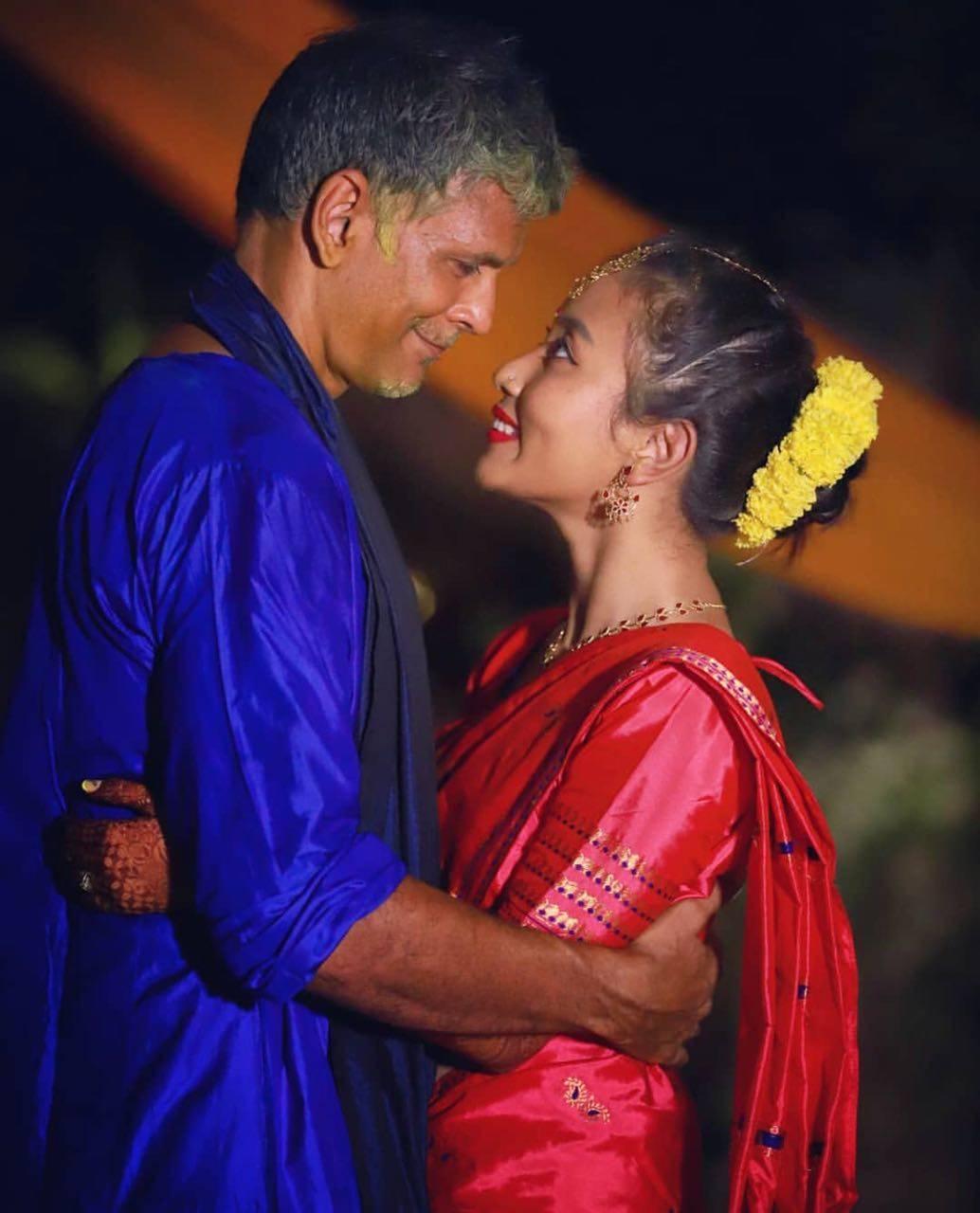 Milind Soman and Ankita Konwar Marriage Photos