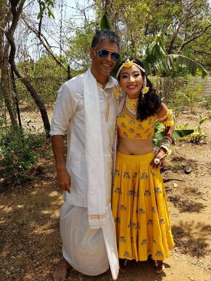 Milind Soman and Ankita Konwar Wedding Video