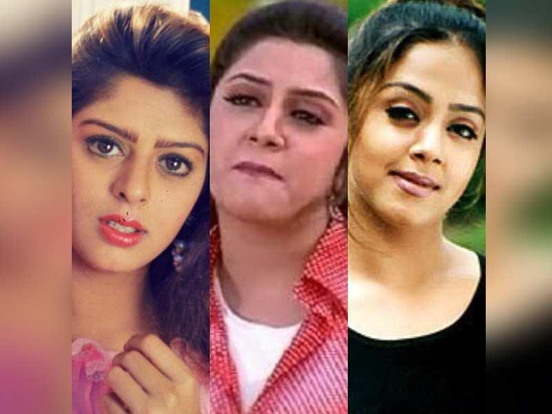 Jyothika, Nagma and Roshini