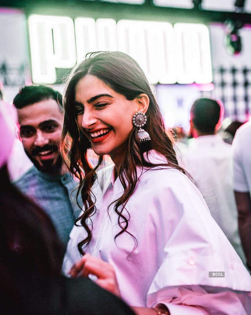Pictures of lovebirds Sonam Kapoor and Anand Ahuja, who're getting married on 8th of May