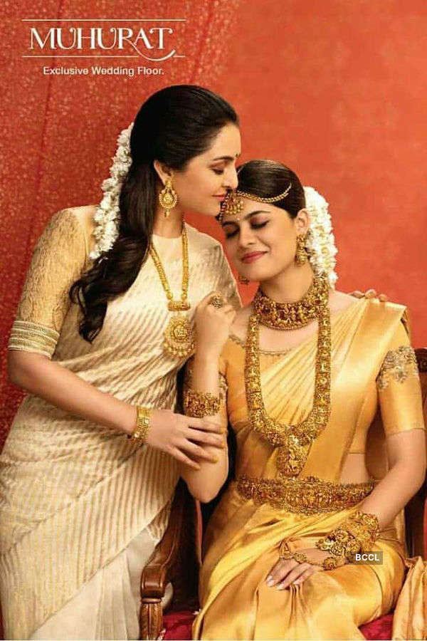 Asha Bhat endorses a jewellery brand
