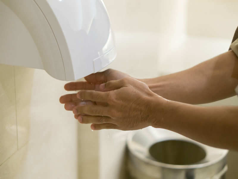 Health warning: Hand dryers in loos can cause serious health issues ...