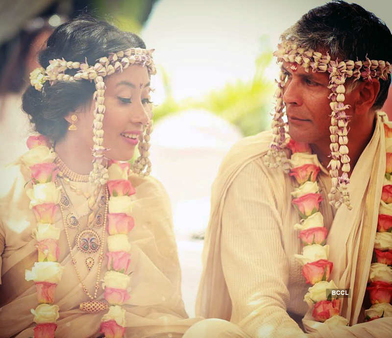 Here's Milind Soman's first special message for his wife Ankita post their wedding, see pictures