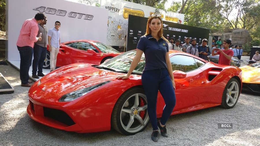 The Ferrari woman