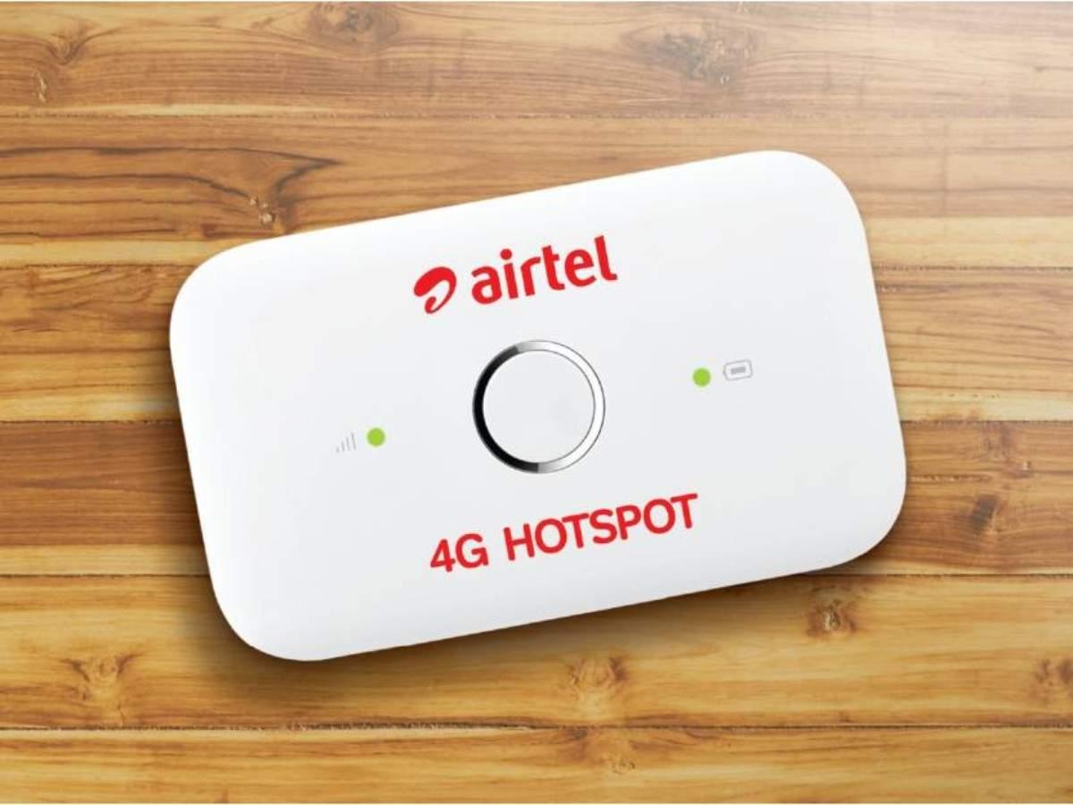 Airtel 4G Hotspot E5573-609 Portable Wi-Fi Data Card - Rs 999