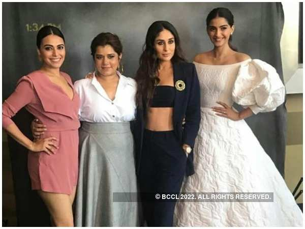 Swara Bhasker, Shikha Talsania, Kareena Kapoor Khan and Sonam Kapoor