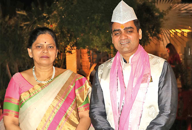 Bharati and Rajat Pathak  (BCCL/ Unmesh Pandey)