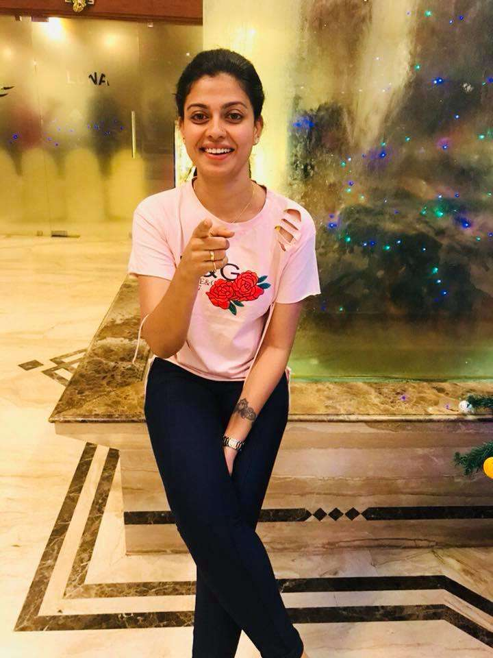 Anusree dazzles in her no-make up look