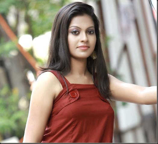 Anusree looks radiant in red
