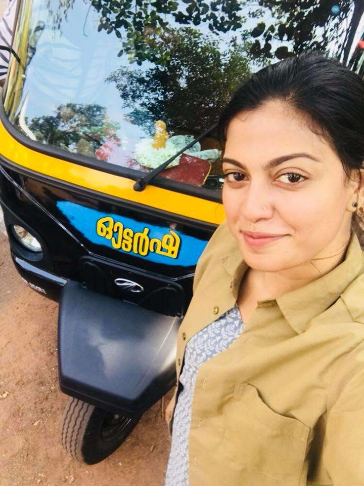 Anusree's latest role has her as an autorickshaw driver
