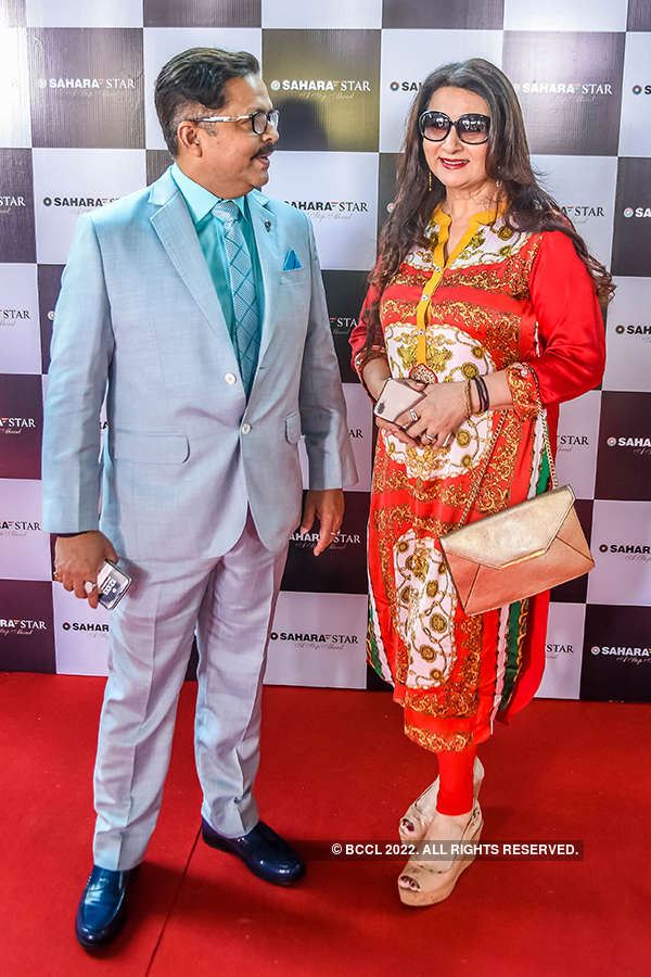 Bollywood celebrities attend a starry lunch party