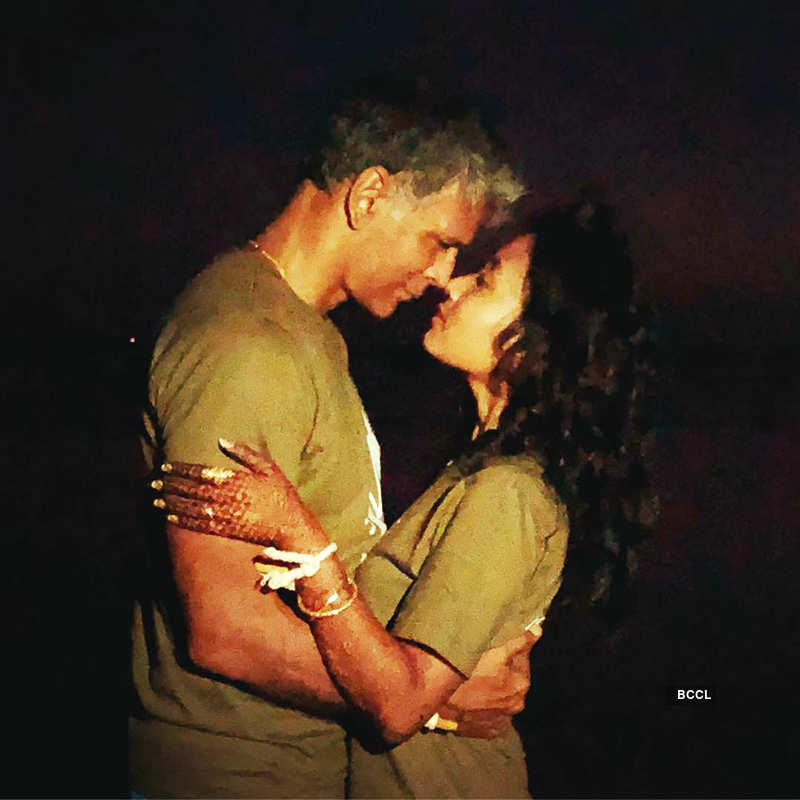Check out these romantic underwater pictures of newly-weds Milind Soman & Ankita Konwar