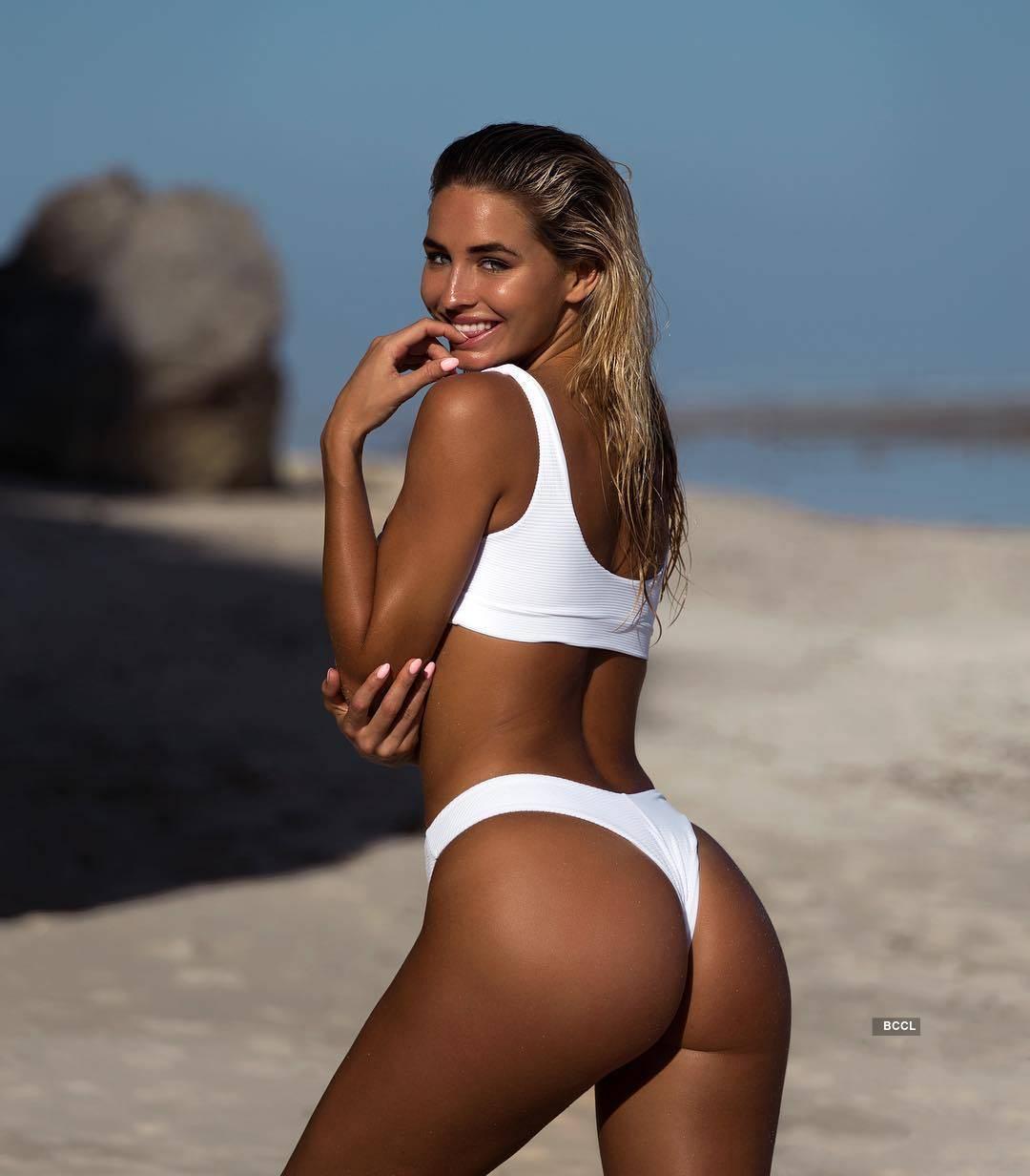 Madi Edwards, the beach beauty