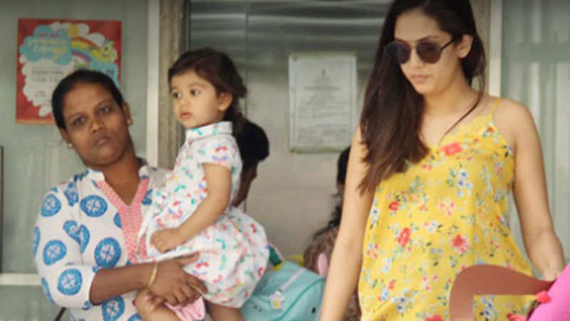 Cutest pictures of Misha with mom Mira Rajput