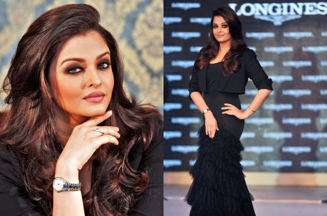 Aishwarya Rai in sexy black