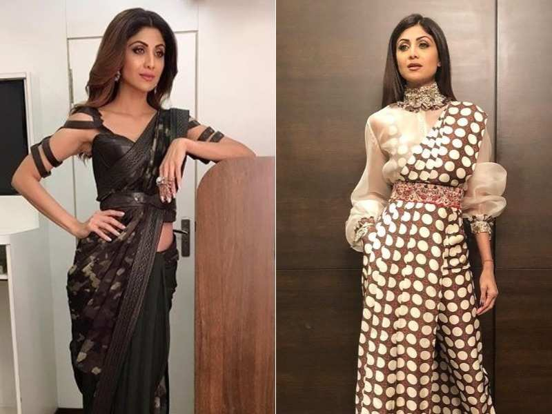 8fba63a3c9 When it comes to Shilpa Shetty Kundra the first thing we think about is her  fitness followed by her fashion quotient. This reigning fashion diva knows  just ...