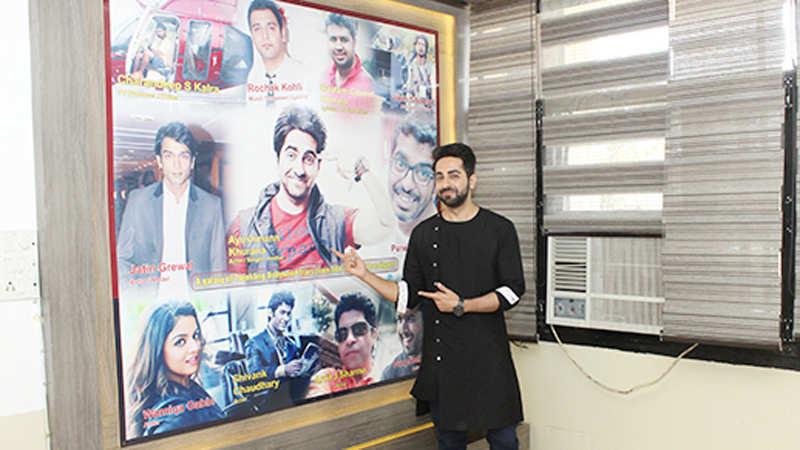 Watch Ayushmann Khurrana relive his memories in Chandigarh