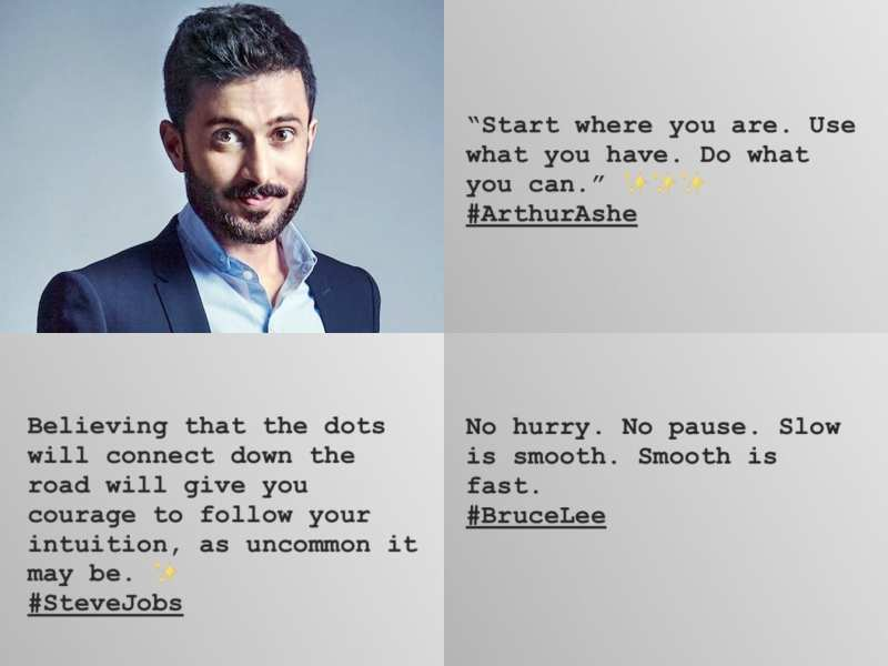 Anand Ahuja Shares Inspirational Quotes On Social Media Ahead Of His