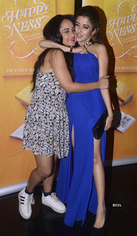 Celebrities attend a starry book launch
