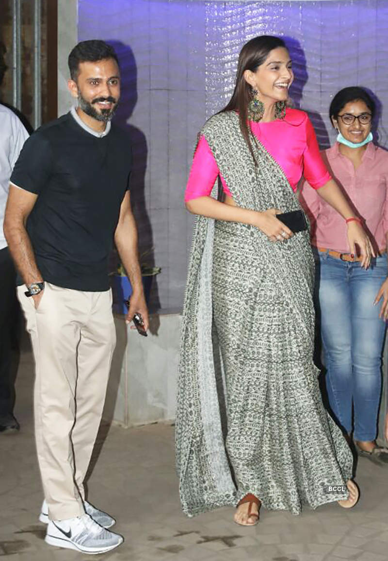 Sonam & Anand steal private time before wedding; friends & family rehearse for sangeet dance! See pics...