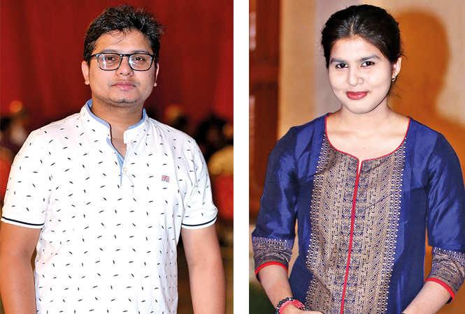 Ashim Bhattacharya (L) and Deboshree Banerjee (BCCL/ Aditya Yadav)