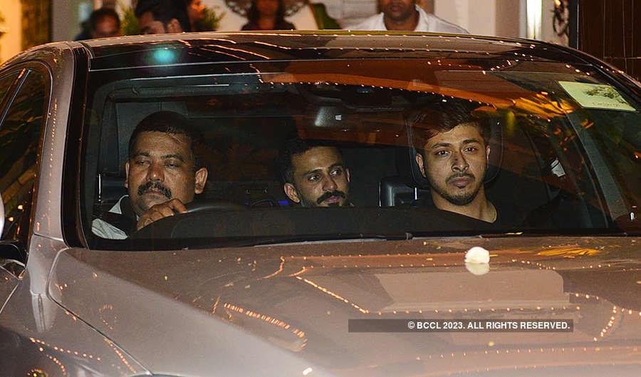 Celebrities attend Sonam Kapoor's starry mehendi ceremony