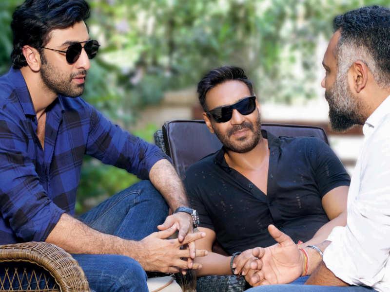 Luv Ranjan's next starring Ajay Devgn and Ranbir Kapoor (2019) besthdmovies - Hindi Movie DVDScr 700MB 720p ESubs