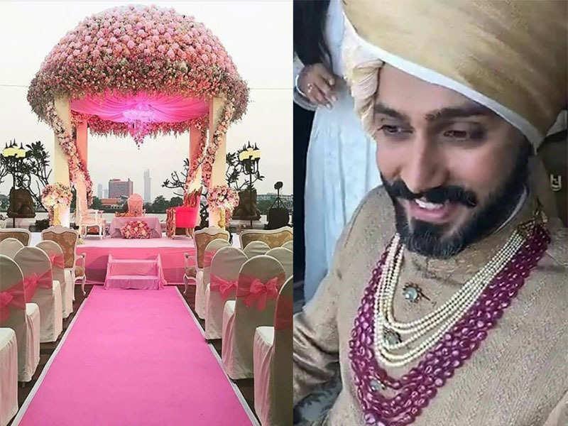 Anand Ahuja Marriage Photo.