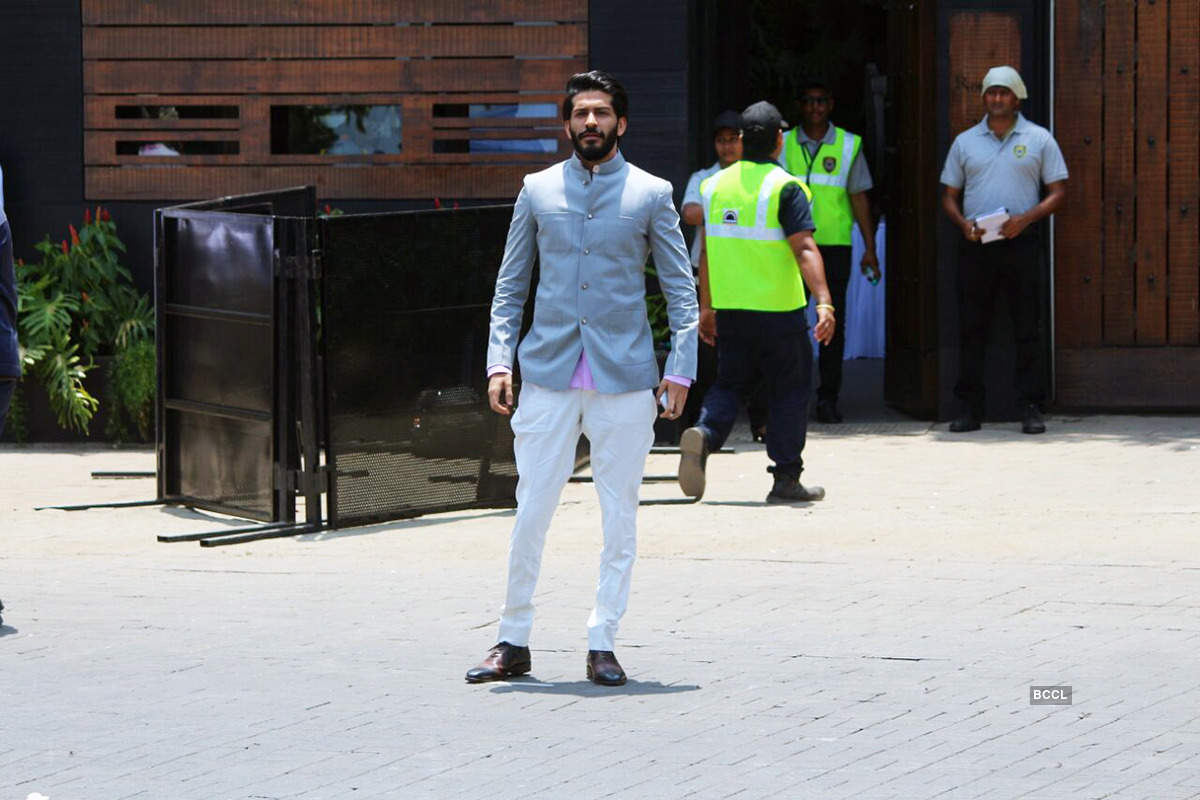 Harshvardhan Kapoor Image from Sonam Kapoor Wedding