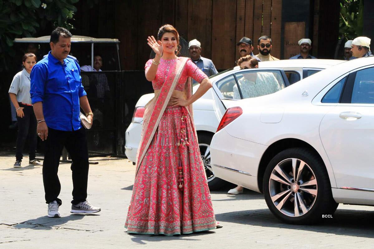 Jacqueline Fernandez picture  from Sonam Kapoor Marriage