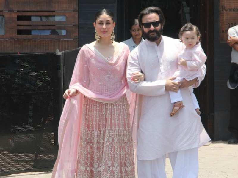 Photo Taimur Ali Khan Graces Sonam Kapoor And Anand Ahuja S Wedding Along With Pas Kareena Saif