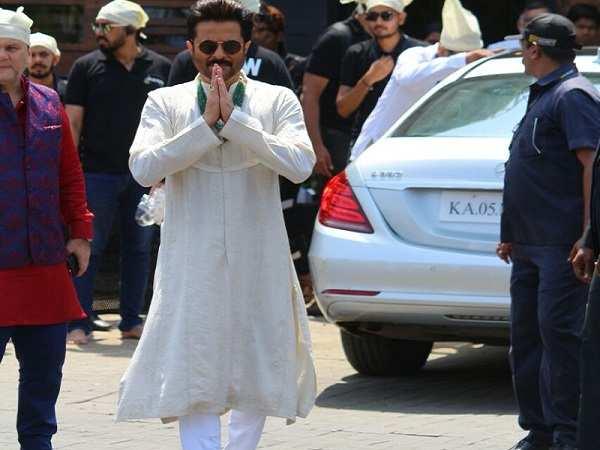 Anil Kapoor at Sonam Kapoor Marriage