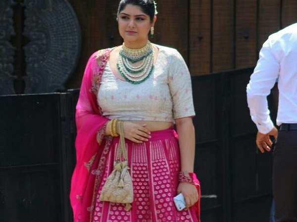 Anshula Kapoor at Sonam Kapoor Marriage