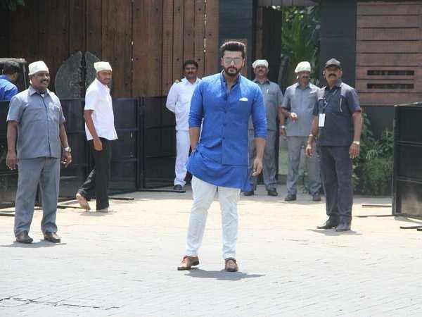Arjun Kapoor at Sonam Kapoor Marriage