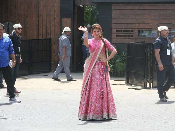 Jacqueline Fernandez at Sonam Kapoor Wedding