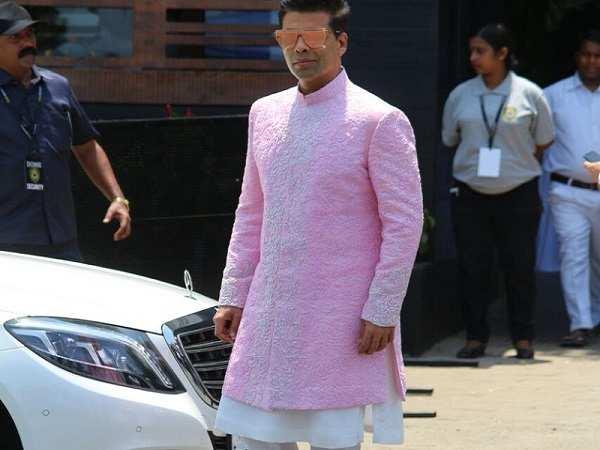 Karan Johar at Sonam Kapoor Wedding