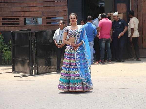 Swara Bhasker at  Sonam Kapoor Marriage