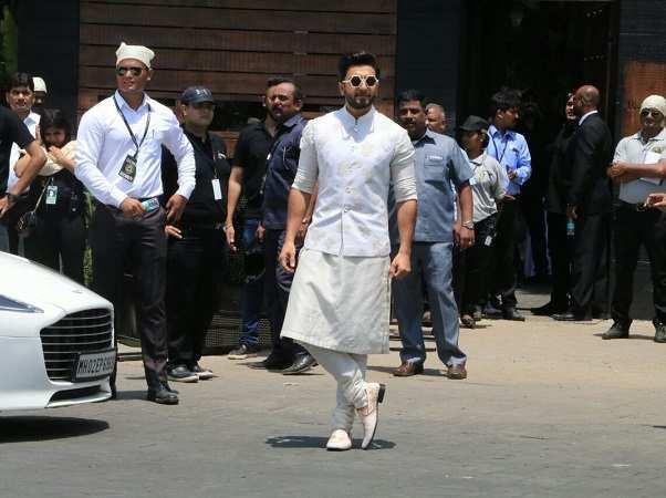 Ranveer Singh at Sonam Kapoor Marriage