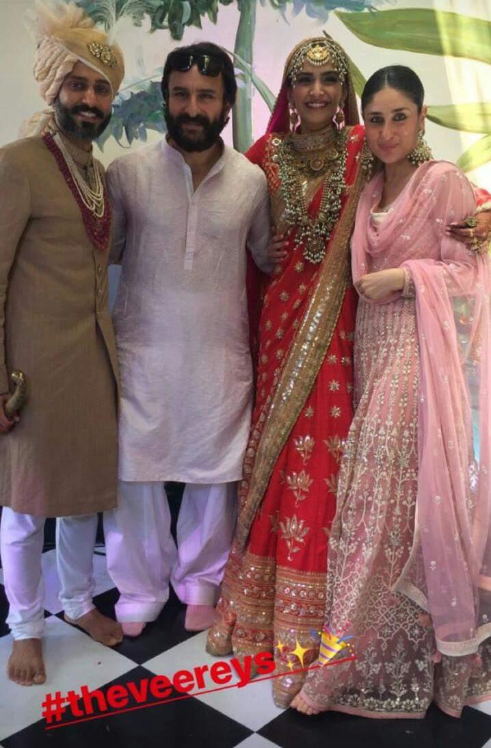 Sonam Kapoor Anand Ahuja marriage photos